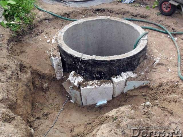 Копка колодца, чистка, ремонт, утепление, земляные работы - Строительные услуги - Копка колодца под..., фото 1