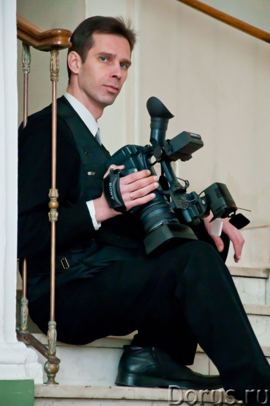 Видеосъемка свадеб, видеооператор на свадьбу - Фото и видеосъемка - Самое сложное в видеосъемке увид..., фото 1