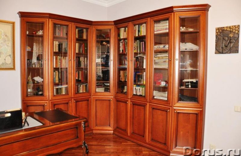 "Стеллаж ""Классика"" МДФ ШПОН - Мебель для дома - Стеллаж Классика Н-2050 / 600 / 250 мм - 3800 р. Фас..., фото 10"