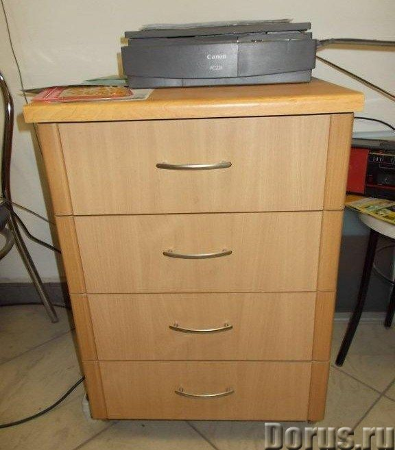 Тумба с 4 ящиками - Мебель для дома - Тумба с 4 ящиками Н-760 / 500 / 600 мм - 2600 р. Фасад софтфор..., фото 1