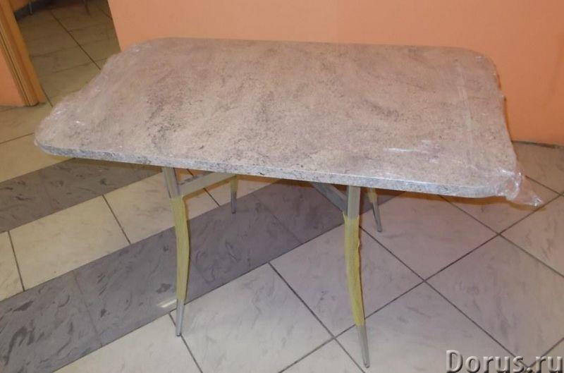 Стол обеденный - Мебель для дома - Стол обеденный Н-760 / 1110 / 700 мм - 6900 р. Столешница влагост..., фото 1