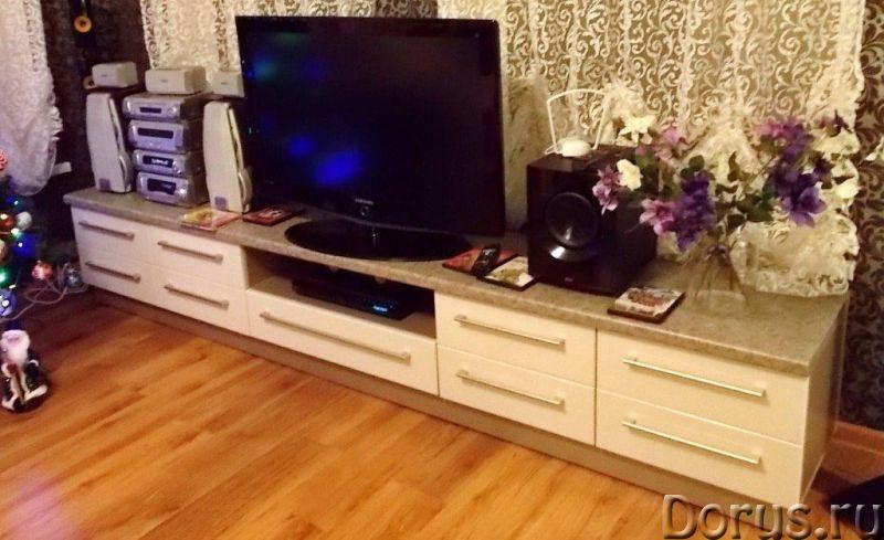 Стол обеденный - Мебель для дома - Стол обеденный Н-760 / 1110 / 700 мм - 6900 р. Столешница влагост..., фото 3