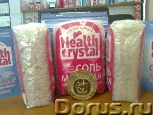 КРИСТАЛЛ ЗДОРОВЬЯ крымская морская соль - Прочее по продовольствию - В этом году в Крыму купила Розо..., фото 2