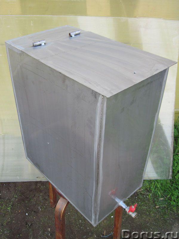 Изготовление металлоконструкций на заказ, баки для бани из нержавейки - Металлопродукция - Производс..., фото 1