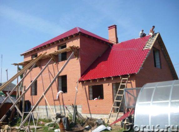 Строим любые загородные дома. На фото наши работы - Строительные услуги - Здравствуйте! Чтобы Вы убе..., фото 5