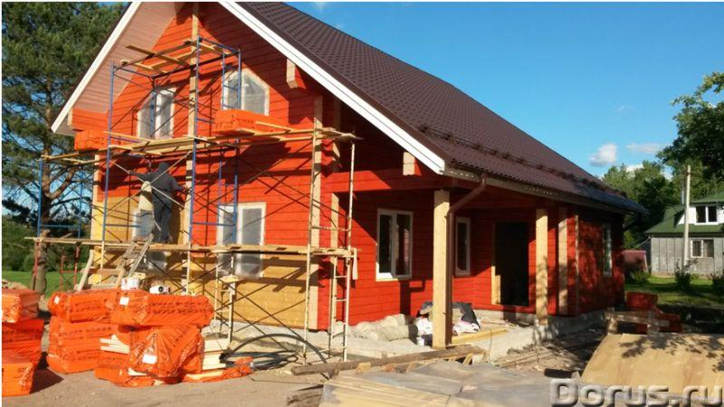 Мы строим дома в ЛО без посредников - Строительные услуги - Русская бригада, все славяне, постоянно..., фото 1