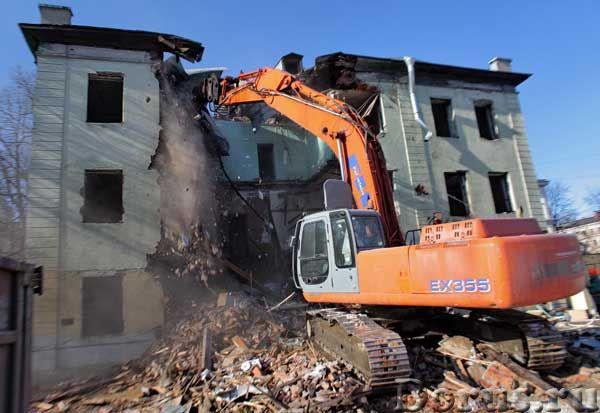 Снос,демонтаж аварийных зданий, сооружений, домов, дач, пристроек - Строительные услуги - Предлагаем..., фото 4