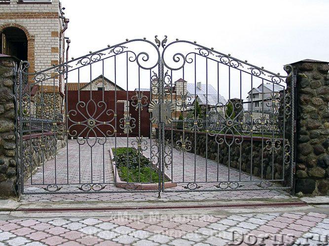 Кованые ворота - Металлопродукция - Большое разнообразие кованых ворот от простых сварных конструкци..., фото 3