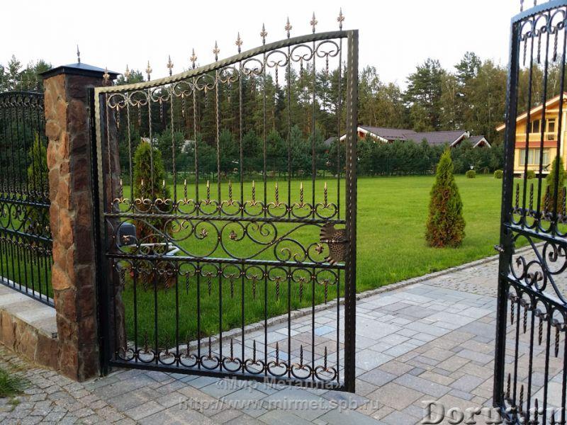 Кованые ворота - Металлопродукция - Большое разнообразие кованых ворот от простых сварных конструкци..., фото 4