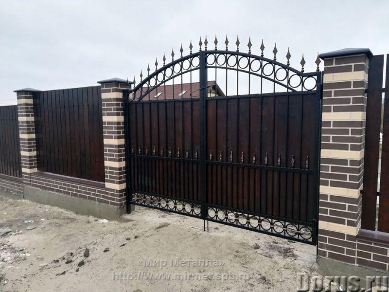 Кованые ворота - Металлопродукция - Большое разнообразие кованых ворот от простых сварных конструкци..., фото 5