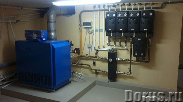 Системы отопления для частного дома на газу