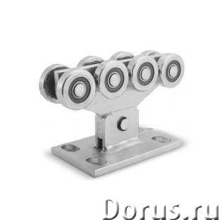 Комплектующие для откатных ворот от производителя. Распродажа - Металлопродукция - Комплектующие и ф..., фото 3